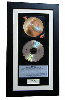 THE CARS Shake It Up CLASSIC CD TOP QUALITY FRAMED+EXPRESS GLOBAL SHIPPING