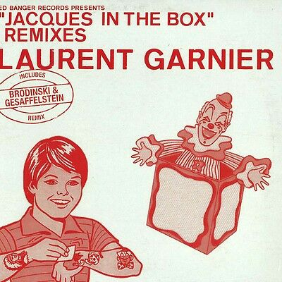 LAURENT GARNIER - JACQUES IN THE BOX REMIXES / incl. Free mp3 download card