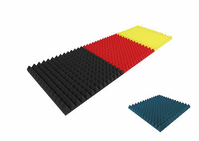 °°° Acoustic sound insulation mousse pyramides neuf couleur made in germany °°°