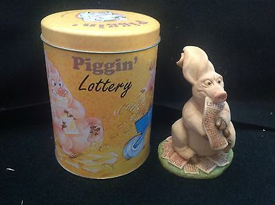 'PIGGIN LOTTERY' - Comes with its own tin - Collectable by David Corbridge