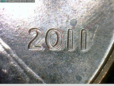2011-P Lincoln Cent - Doubled die Obverse-1DO-006 - Wexler-005 -Class 4+8 -V2011