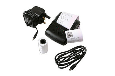 Thermal Roll Printer for Battery Testers • Supplied with Mains & USB Cable