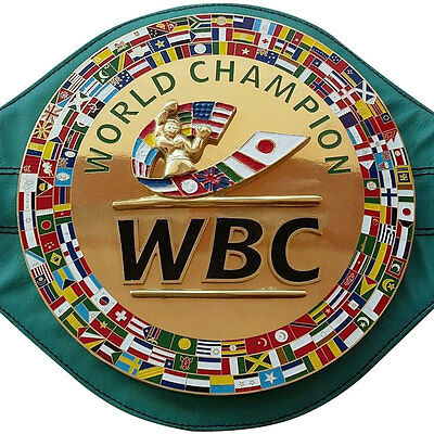 WBC Championship Boxing Belt 3D Replica Adult New
