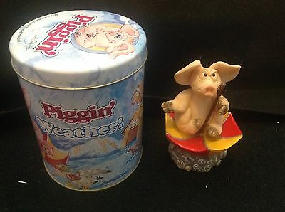 'PIGGIN WEATHER' - Comes with its own tin - Collectable by David Corbridge
