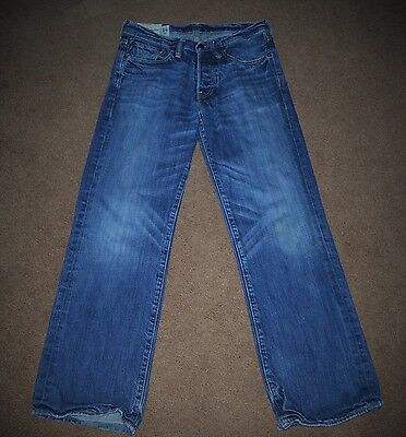 Abercrombie & Fitch Kilburn Low Rise Boot Jeans Youth Boys Sz 14