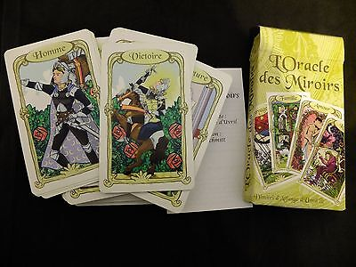 vintage tarot deck french oracle of mirrors