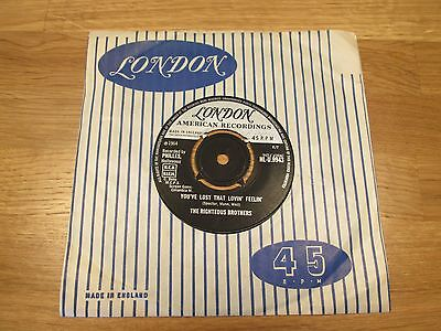 "The Righteous Brothers - You've Lost That Lovin' Feelin' - Uk 7"" Vinyl"