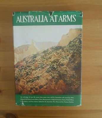 Australia At War Old Book Printed In Canberra Ww1 Ww2