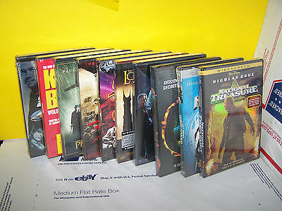 Lot Of 10 New Different Dvds . Hot Titles - Region 1 - Usa