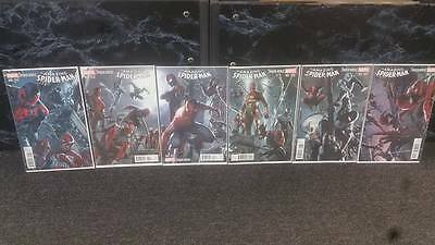 Amazing Spider-Man #9-14 Dell'otto Variant Connecting Covers Set Comic Kings
