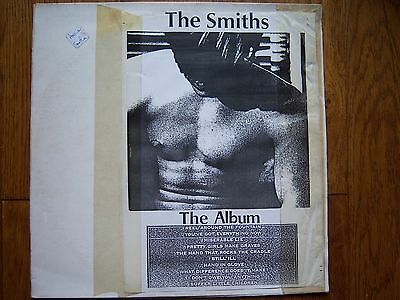 The Smiths Lp Original Test Pressing White Label Very Rare