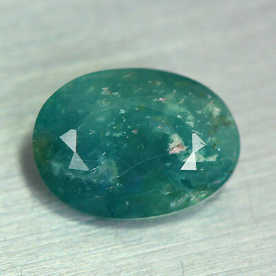 0.890 Ct Fabulous Gem Natural Aqua Blue Madagascar Grandidierite Rare Gemstone!!
