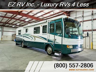 2001 Holiday Rambler ambassador 2 slides lower miles very clean