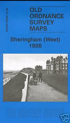 Map Of Sheringham (West) 1926