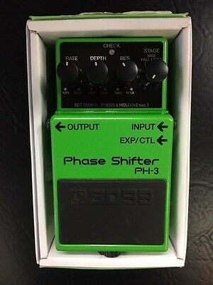 Boss PH-3 Phase Shifter / Pitch Shifter Compact Guitar Pedal