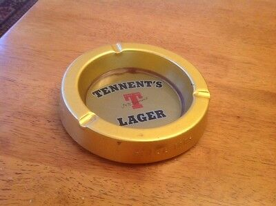 Tennents Lager Metal Ashtray