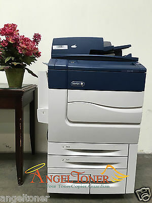 Xerox C60 Color Digital Laser Production Printer Copier Scanner