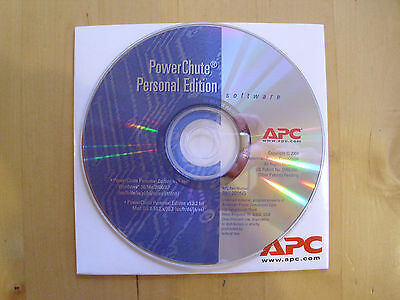 APC PowerChute Personal Edition CD 991-2005G