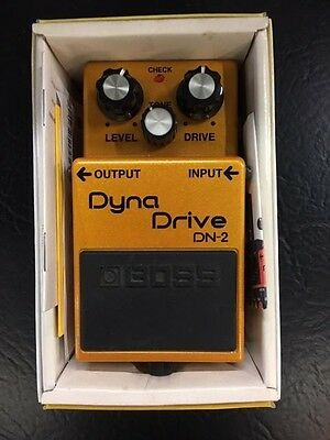 Boss DN-2 Dyna Drive Overdrive Compact Guitar Pedal