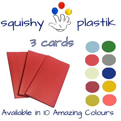 Squishy Plastik™ | Hand Mouldable Thermo plastic Polymer Card| 3 Cards