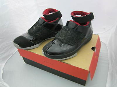 best service 3e5df 3a313 Nike Air Jordan 20 XX Retro Black Stealth Varsity Red 310455-002 size 8