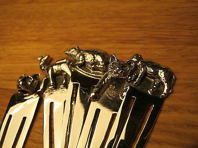A Fabulous Wholesale Job Lot Of 10 Solid Silver 925 Animal Bookmarks Cat Camel