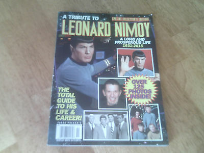 Faces Presents Tribute Leonard Nimoy Collectors Edition Magazine Spock Star Trek