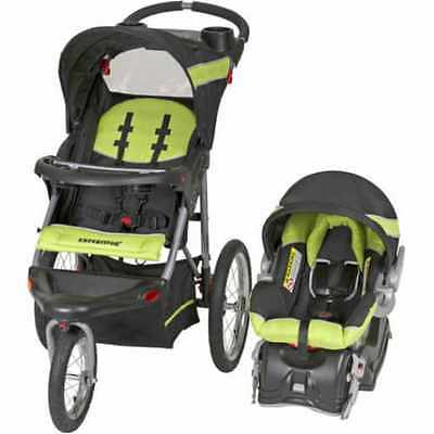 Baby Trend Expedition Jogger Travel System 2 IN 1 Infant Toddler Bassinet Seat