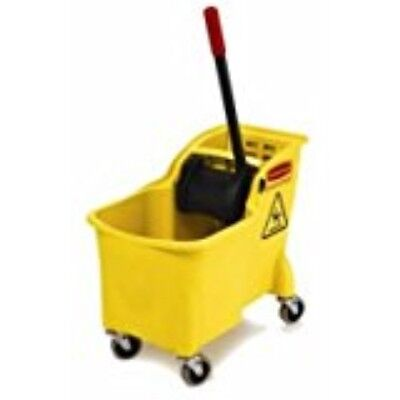 Rubbermaid Comm Prod 7380-20-YEL 31 quart Tandem Bucket