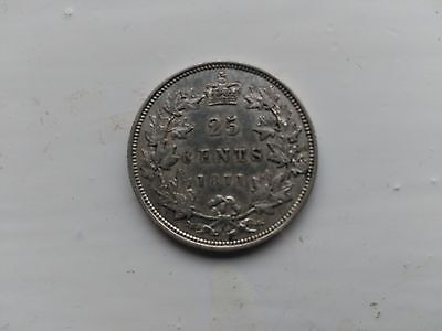 Canada 25 Cents 1871