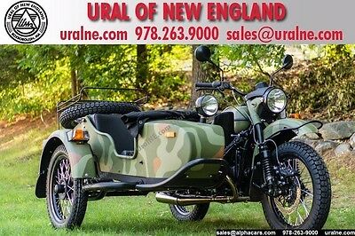 2017 Ural Gear Up 2WD Woodland Custom  Updated Model Loaded 2WD Reverse Gear Financing & Trades