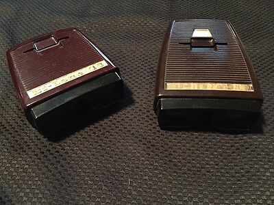 2 VINTAGE 35mm ( BI-LENS 35)  slide viewer by SAWYER'S VIEW MASTER PRODUCTS