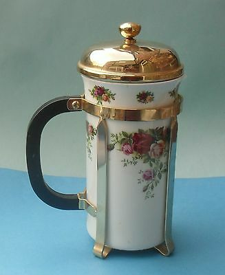 Royal Albert Old Country Roses Cafetiere