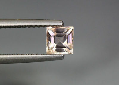 0.59 Cts_Amazing !!! Gem-Miracle Collection_Natural Peach Pink Morganite_Brazil