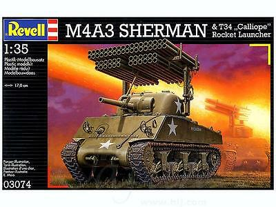 1/35 Revell M4A3 Rocket Luncher CALLIOPE