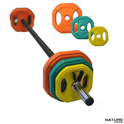 Nature Fitness Body Bar Barbell Set Pump Set Crossfit Gym Weights Fitness