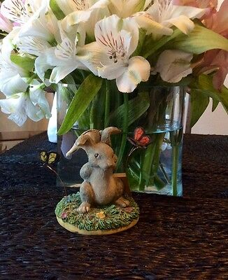 Rabbit Figurine, By Dean Griff, Charming Tails