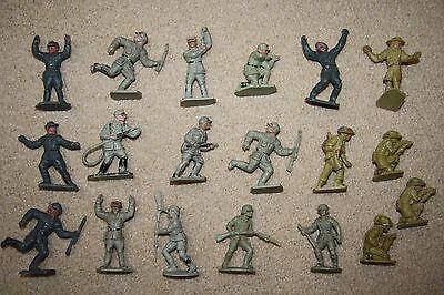 19 x Vintage Lone Star + Charbens German Soldiers Africa Korps & Anzacs 1/32