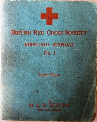 British Red Cross Society First Aid Manual - 1944