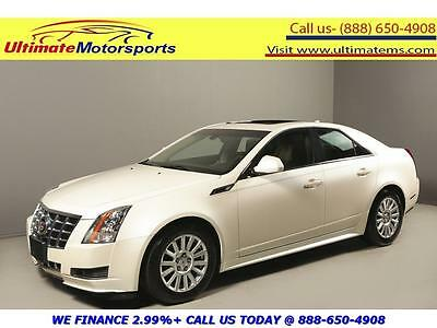 2013 Cadillac CTS Luxury Sedan 4-Door 2013 CADILLAC CTS LUXRY COLLECTION PANO LEATHER HEATSEAT RCAM WHITE WARRANTY