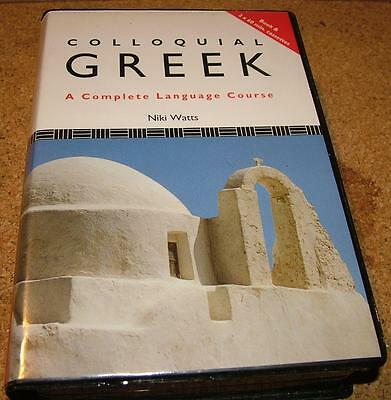 Colloquial Greek a complete language course nick watts tapes & book learn greek