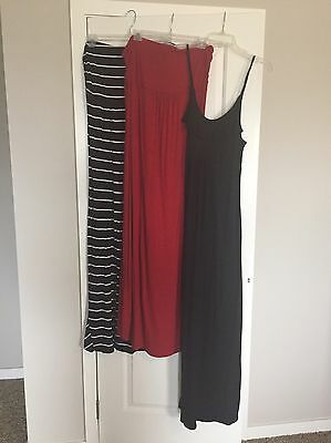 Lot Of Old Navy Maternity Dresses- Size Large