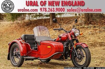 2016 Ural Retro Classic Maroon Custom  Custom Color Vintage Style Reverse Gear Parking Brake Financing & Trades
