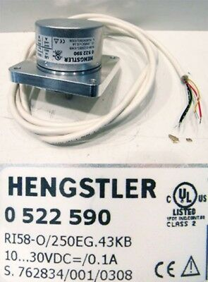 Hengstler RI58-0/250EG.43KB 0522590  0 522 590 -unused-