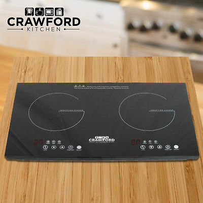 NEW Portable 1800W Induction Cooker Electric Cooktop Burner Home Countertop F