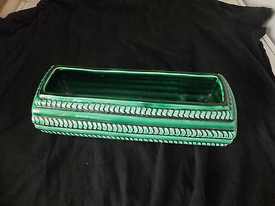 Dartmouth Pottery Vase Trough With Ribbed Patterning