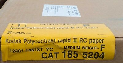 24 x 30 inch! Kodak Polycontrast Rapid II RC 50 sheets Tested