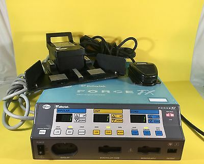 Valleylab Force FX Electrosurgical Generator with Two Foot Paddles
