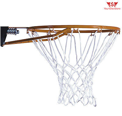 Basketball Rim Slam-It  All-weather Net and Hardware Included Outdoor Durable