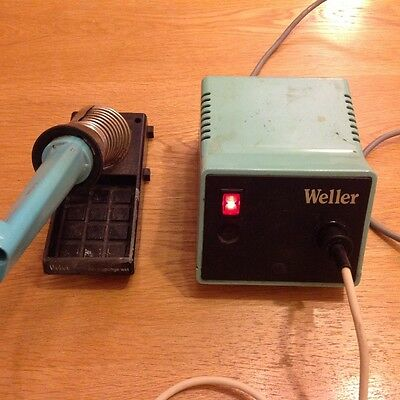 Professional Weller PS-3D 24V soldering station and 50w TCP iron used